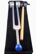 Stimmgabel Set Om Tuner 136,10 Hz mit Kugel Phonophorese Tuning-Fork Diapason