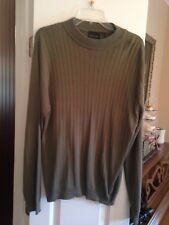 Men's After Dark Green Sweater Size Large