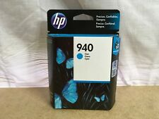 HP 940 OfficeJet Cyan Ink Cartridge ☆ C4903AL ✅ NEW FACTORY SEALED ✔➔➨