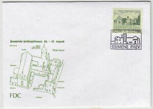 ESTONIA: HAAPSALU CASTLE 1993 FDC