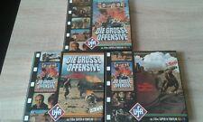 Die Grosse Offensive 3 Teile  110m Super 8 Tonfilm - Color