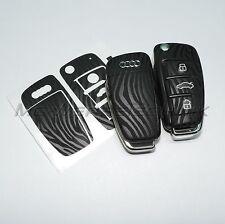 2A_arredamento chiave Adesivo per Audi A1 A3 A4 A6 TT Q7 nero zebra design