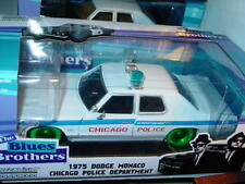 Greenlight BLUES BROTHERS 1975 DODGE MONACO CHICAGO PD GREEN MACHINE NICE!!
