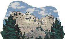 Cat's Meow Village Keepsake Keystone S Dakota Mt. Rushmore Monument #04-424 New