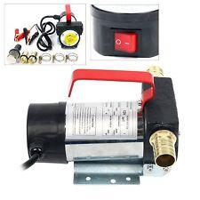 12 Volt DC Diesel Fuel Oil Transfer Pump 10.5 gpm Pump Diesel Kerosene Biodiesel