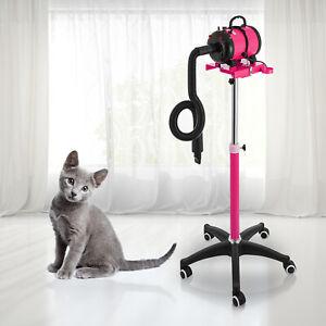 Pet Dog Hair Dryer Grooming Fur Speed Heater Blaster w/ Stand Hairdryer 2800W