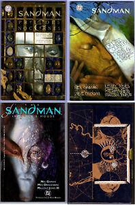 The World of the Sandman with Slipcase & 3 TPB comic books 1991 Neil Gaiman