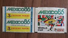 Panini World Cup 1986 World Cup 86 Mexico - 2 x Bags Packs Bustina horizontally