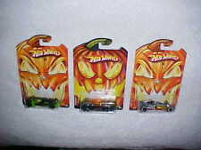 "Mattel Hw Hotwheels Halloween ""Vulture"", ""Phastasm"" & ""Sweet 16"" Vhtf New"