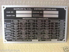 DAIMLER 250 V8 SALOON ALLOY REPRO CHASSIS DCP1