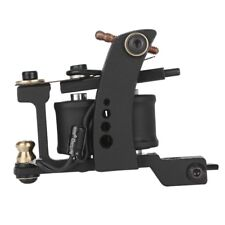 Professional 10 Wrap Coils Casting Iron Liner Tattoo Machine for Body Art