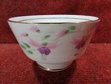 THOMAS FORESTER Pink/Mauve FUSCHIA Hand Painted SUGAR BOWL 1930-40 FREE UK POST