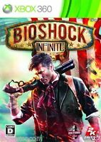 Used Xbox 360 Bioshock Infinite MICROSOFT JAPAN JAPANESE JAPONAIS IMPORT
