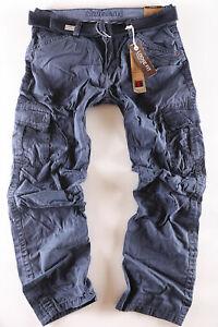 Timezone Herren Cargo Jeans Hose Benito TZ 0-3-9-1 blau NEU Größe wählbar