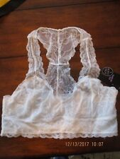 Body Frosting  Bralette Lacy Bra Racerback NWT  Junior large