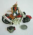 Galoob 1993 Biker Mice From Mars Throttle Martian Monster Bike Chopper & Helmet