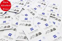 60 x Alcohol Free Zeiss Lens Cleaning Wipe Camera Glasses Optical Iphone Mobile