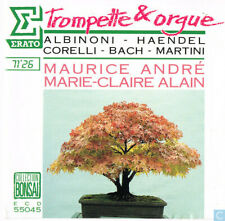 Maurice Andre & Marie-Claire Alain: Trumpet & Organ ~ Great Classical CD ~ Bach
