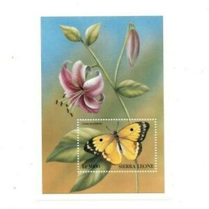 VINTAGE CLASSICS - Sierra Leone 2052 - Butterflies - Souvenir Sheet - MNH