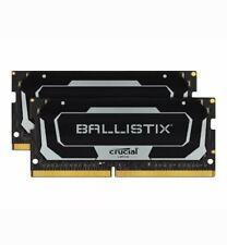 Crucial BALLISTIX 32GB (2x16GB) 3200MHz CL16 DDR4 Laptop RAM SODIMM xmp gaming