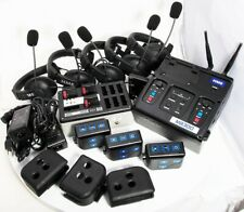HME Football Coach Intercom Sys Base MB300 3x BP300 5X HS15 Headset Charger Case