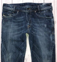 Mens DIESEL Poiak Jeans W31 L30 Blue Slim Tapered Fit Wash 008SV_STRETCH