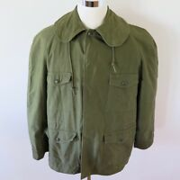 VINTAGE ORIGINAL USAF AIRFORCE JACKET SATEEN W/ LINER 1960 VIETNAM LARGE ALPHA