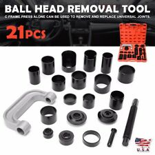 21Pcs Ball Joint Master Auto Repair Remove Installer Adapter C-Frame Press New