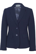 Busy Navy Ladies Suit Jacket, Sizes 10 to 26