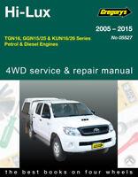 Toyota HiLux Repair Manual 2005-2015 Petrol & Diesel models