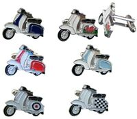 SCOOTER Cufflinks, MOD's 15 cols. Gift Box. Mens Birthday Christmas Gift B6-1-30