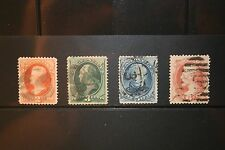stamps 183, 184, 185, 186 - Used Set