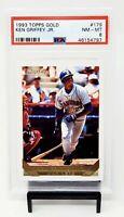 1993 Topps GOLD HOF Mariners KEN GRIFFEY JR. Baseball Card PSA 8 NM-MINT