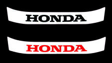 Honda F1 Helmet Visor Sticker Arai Motorsport Karting
