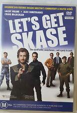 LET'S GET SKASE DVD RARE OOP DELETED AUSTRALIAN CULT MOVIE REGION 4 PAL GREAT