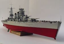 1:200 Royal Italian Navy Conte di Cavour Dreadnought Handcraft Paper Model Kit