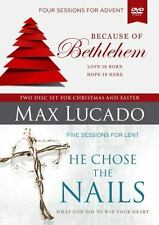 BECAUSE OF BETHLEHEM / HE CHOSE THE NAILS - LUCADO, MAX - NEW BOOK