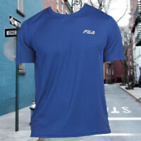 NWT FILA AUTHENTIC REFLECTIVE BRAND LOGO MEN'S CREW NECK SHORT SLEEVE T-SHIRT