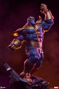 Sideshow Marvel Comics Avengers Assemble Thanos Modern Version Statue In Stock
