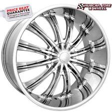 Elure 011 Chrome 17x7 Custom Wheel Rim (One Wheel)