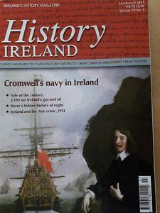 'HISTORY IRELAND' Magazine July/Aug 2011 'Oliver Cromwell's Navy in Ireland'