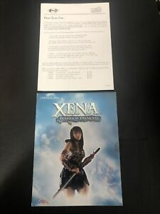 Xena Warrior Princess Studios USA official Merchandise Catalog 1998 w Forms Nice