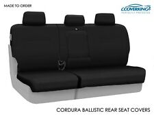 Coverking Cordura Ballistic Heavy Duty Rear Tailored Seat Covers for Ford F250