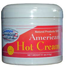 HOT CREAM CREMA REDUCTORA 4oz BODY FAT BURNER LIPO GEL REDUCTOR american
