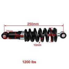 "2pcs  10"" 250mm Rear Shock Dirt Pit Bike SSR Taotao Coolster 110cc 125cc ATV"