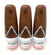 Almay Best Blend Forever Foundation Makeup 210 - Mocha 1 Oz - Lot of 3