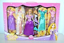 Disney Store Rapunzel Tangled Doll Luxury Boutique Wardrobe Dresses Gift Set