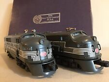LIONEL F3A-A #2333 NEW YORK CENTRAL DIESEL LOCOMOTIVE SET(38106 & 38107) NIB