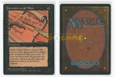 MTG MAGIC - Contratto con gli Abissi - 1ª Edizione Italiana FBB - 1994 - MINT