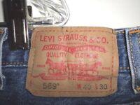 JEANS Men's LEVI'S WRANGLER HILFIGER DICKIES Blue Black Mens 505 550 560 569 etc
